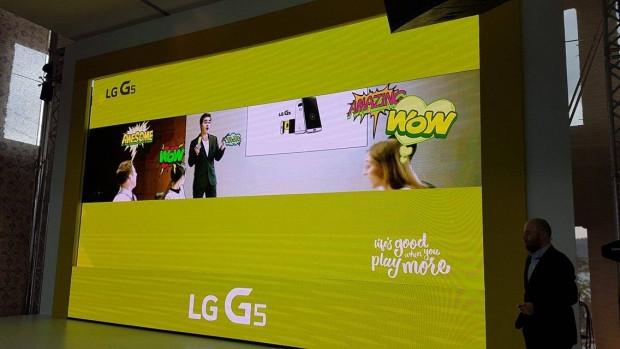 LG G5 Lansmanından ilk kareler - Page 1