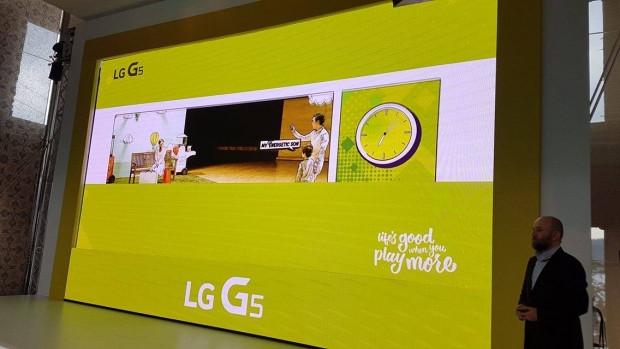 LG G5 Lansmanından ilk kareler - Page 2
