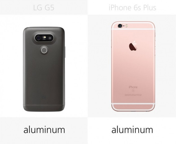 LG G5 ve iPhone 6S Plus yanyana - Page 1