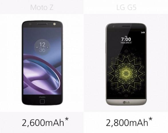 LG G5 ve Moto Z karşılaştırma - Page 2