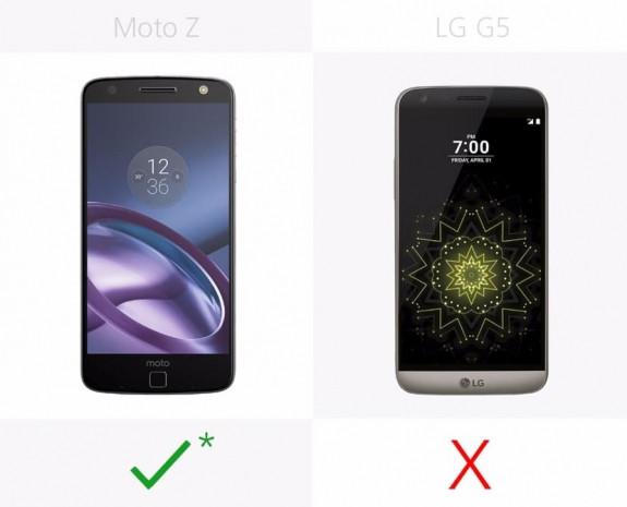 LG G5 ve Moto Z karşılaştırma - Page 3