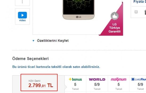 LG G5'in Türkiye satış fiyatı netlik kazandı - Page 3
