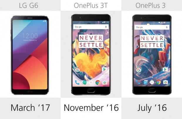 LG G6, OnePlus 3 ve 3T karşılaştırma - Page 1