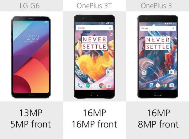 LG G6, OnePlus 3 ve 3T karşılaştırma - Page 2
