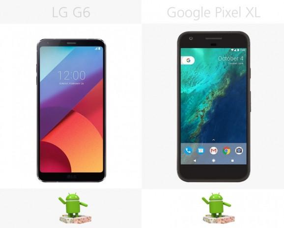 LG G6 ve Google Pixel XL karşılaştırma - Page 1