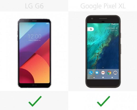 LG G6 ve Google Pixel XL karşılaştırma - Page 2
