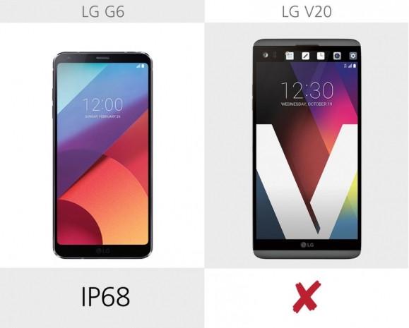LG G6 ve LG V20 karşılaştırma - Page 3
