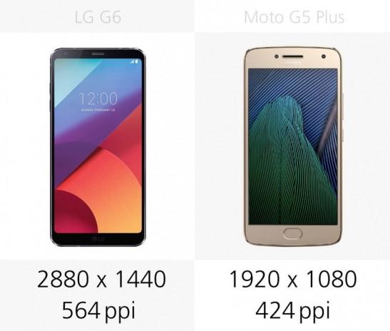 LG G6 ve Moto G5 Plus karşılaştırma - Page 1