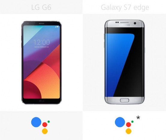 LG G6 ve Samsung Galaxy S7 edge karşılaştırma - Page 1