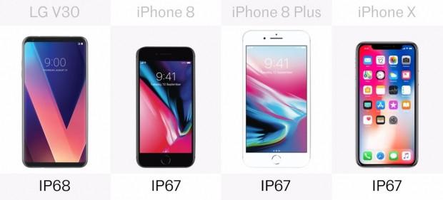 LG V30, iPhone 8, iPhone 8 Plus ve iPhone X karşı karşıya - Page 4