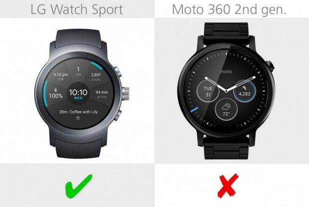 LG Watch Spor ve Moto 360 2. nesil karşılaştırma - Page 4