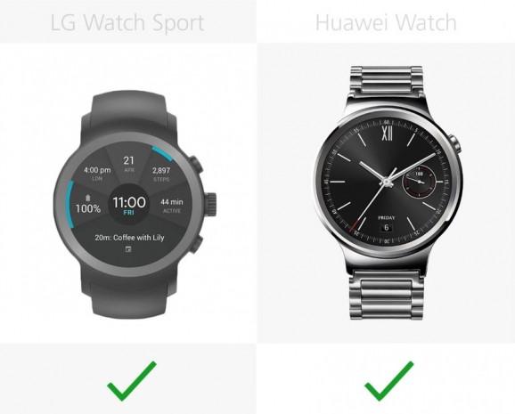 LG Watch Sport ve Huawei Watch karşılaştırma - Page 2