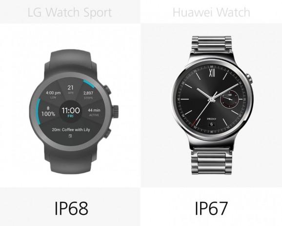 LG Watch Sport ve Huawei Watch karşılaştırma - Page 1