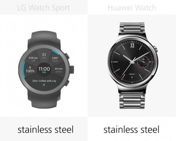 LG Watch Sport ve Huawei Watch karşılaştırma - Page 4