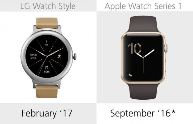 LG Watch Style ve Apple Watch Series 1 karşılaştırma - Page 2
