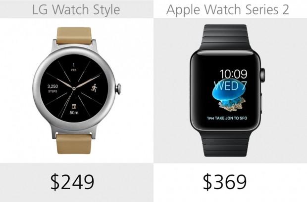 LG Watch Style ve Apple Watch Series 2 karşılaştıma - Page 1