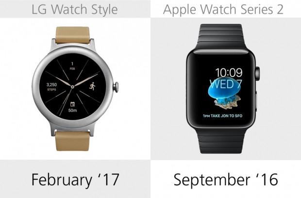 LG Watch Style ve Apple Watch Series 2 karşılaştıma - Page 2