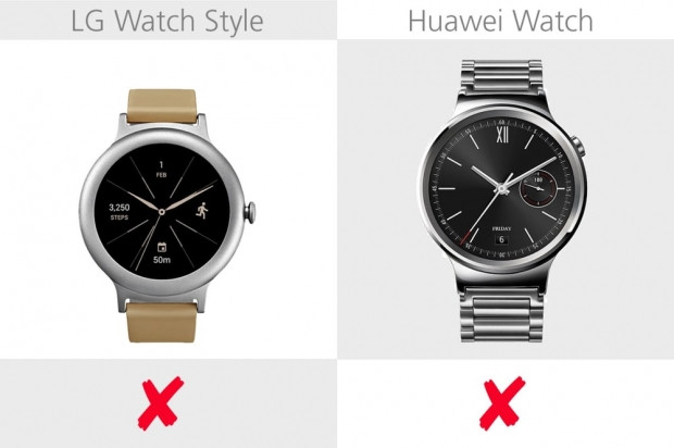 LG Watch Style ve Huawei Watch karşılaştırma - Page 2