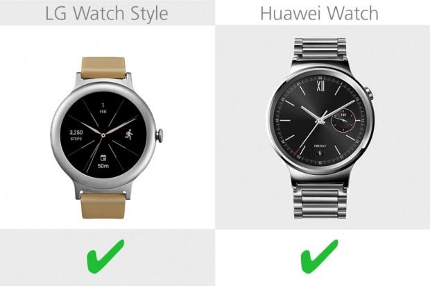LG Watch Style ve Huawei Watch karşılaştırma - Page 3