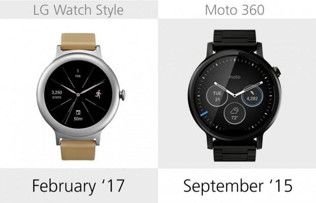 LG Watch Style ve Moto 360 2. nesil karşılaştırma - Page 1