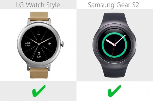 LG Watch Style ve Samsung Gear S2 karşılaştırma - Page 3