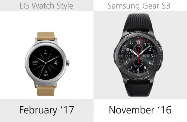 LG Watch Style ve Samsung Gear S3 karşılaştırma - Page 1