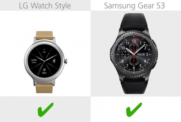 LG Watch Style ve Samsung Gear S3 karşılaştırma - Page 3