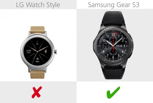 LG Watch Style ve Samsung Gear S3 karşılaştırma - Page 4