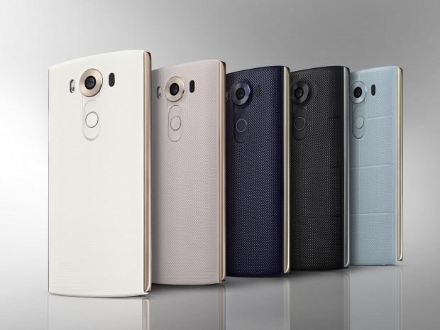 LG'den çift ön kameralı iki ekranlı telefon: V10 - Page 1
