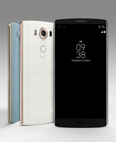 LG'den çift ön kameralı iki ekranlı telefon: V10 - Page 2