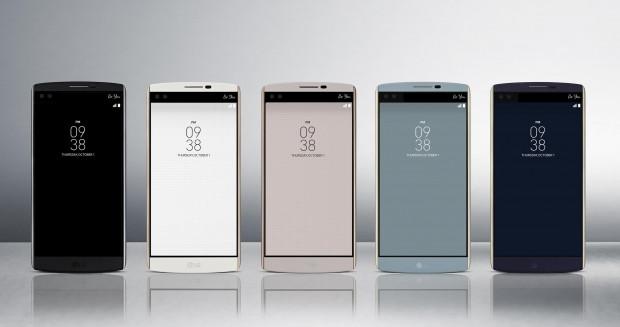 LG'den çift ön kameralı iki ekranlı telefon: V10 - Page 3