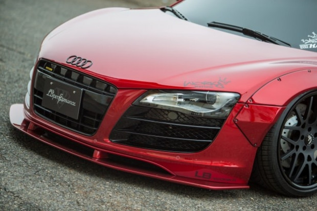 Liberty Walk firması, Audi R8'i değiştirdi! - Page 3
