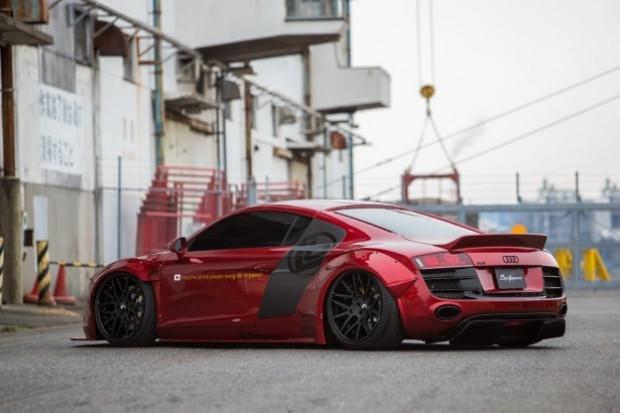 Liberty Walk firması, Audi R8'i değiştirdi! - Page 4