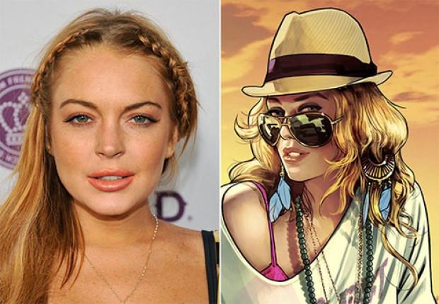 Lindsay Lohan GTA ile mahkemelik oldu - Page 1