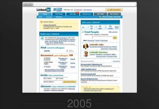 Linkedin'in 10 yıllık değişimi! - Page 1