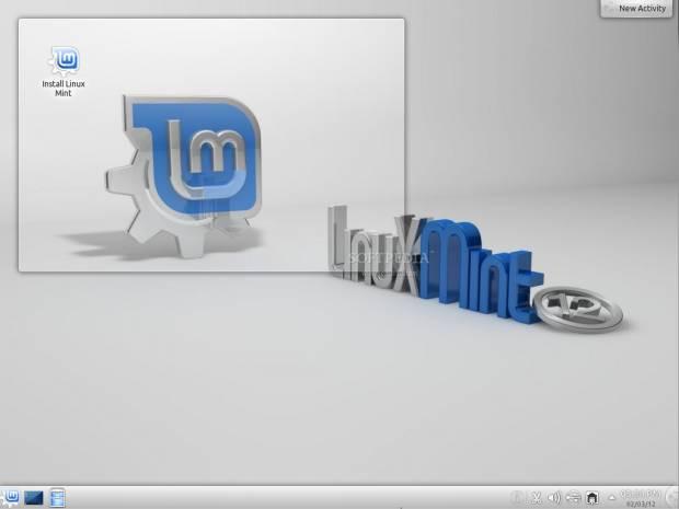 Linux Mint 12 KDE'den görüntüler - Page 1