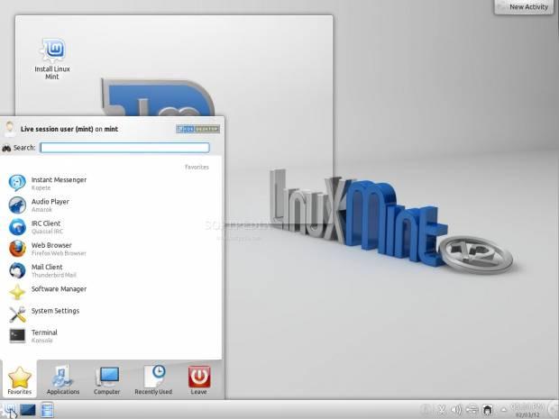 Linux Mint 12 KDE'den görüntüler - Page 2