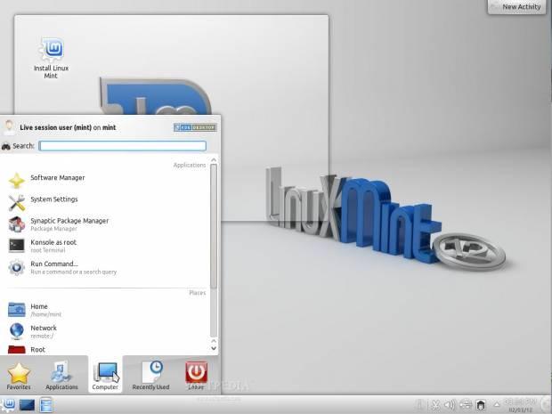 Linux Mint 12 KDE'den görüntüler - Page 4