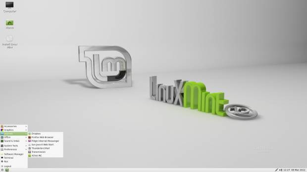 Linux Mint 12 LXDE - Page 3