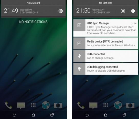 Lollipop,HTC One Sense (M8)'e de geliyor! - Page 1