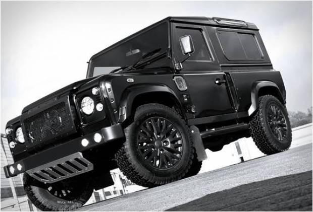 Lüksü sevenlere Land Rover Defender - Page 1