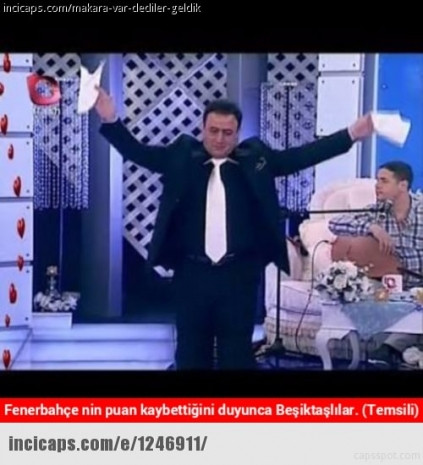 Maç sonrası Fenerbahçe caps'leri güldürdü - Page 1