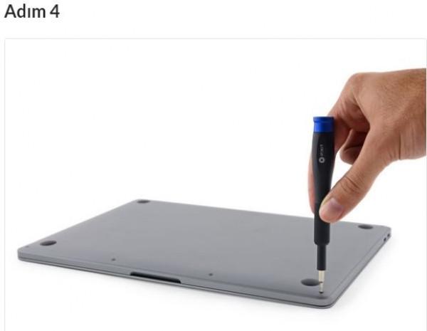 Yeni MacBook Pro parçalarına ayrıldı! - Page 2