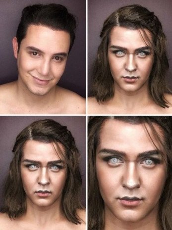 Makyajla kendini herkese benzetiyor - Page 2