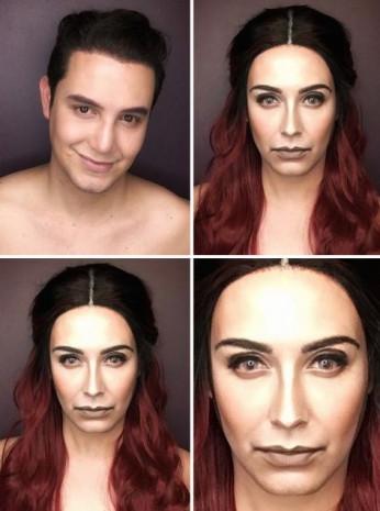 Makyajla kendini herkese benzetiyor - Page 3