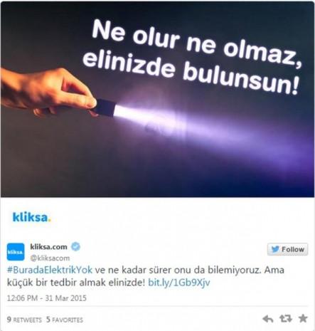 Markaların ülke genelindeki elektrik kesintisine verdiği gerçek zamanlı tepkiler - Page 3