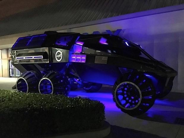 Mars için üretilen Batmobile! - Page 1