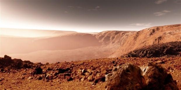 Mars yüzeyinde 35 yıl önce insan gördü! - Page 1