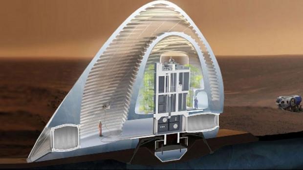 Mars'da yaşayacağımız ev konseptleri - Page 4