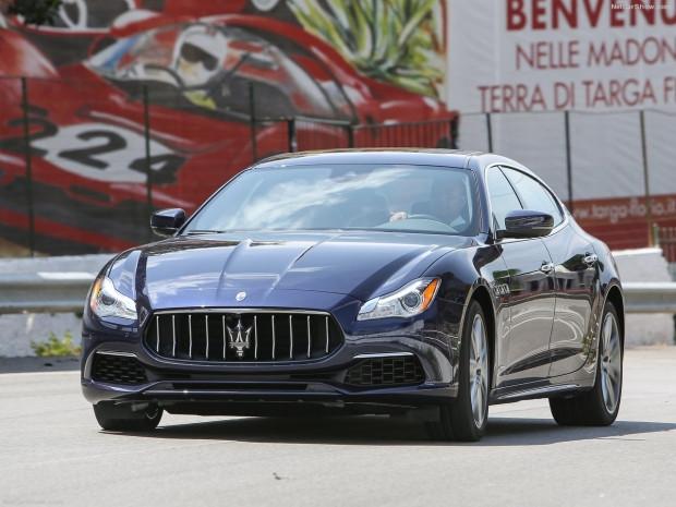 Maserati'nin ürettiği en güçlü ve hızlı sedan Quattroporte 2017 - Page 2